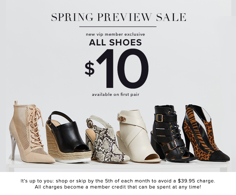 Women's Shoes, Bags & Clothes Online 1st Style for $10
